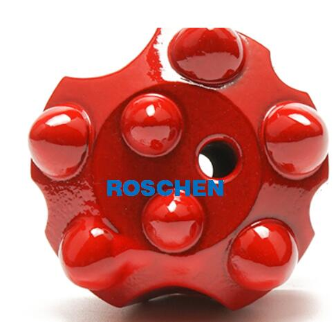 Threaded Button Bit SR28-45mm Q7 for Top Hammer drilling