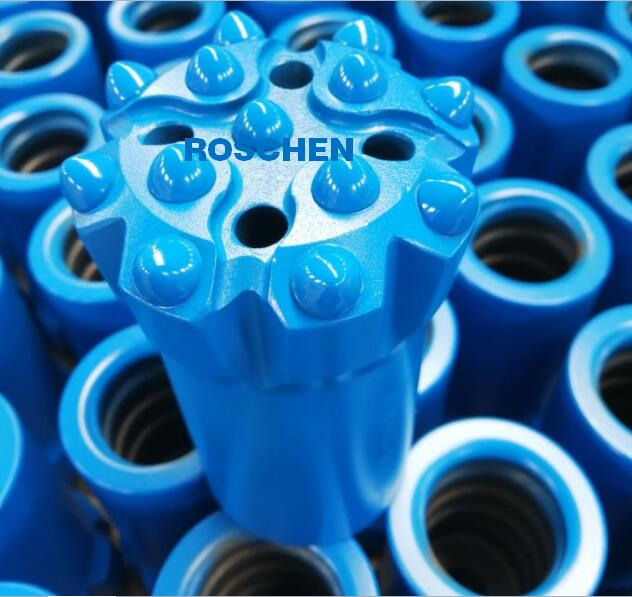 Threaded Button Bit T38-89 Q14 for Top Hammer drilling